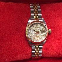 Rolex Lady-Datejust Gold/Stahl 26mm Weiß Keine Ziffern Schweiz, Mendrisio