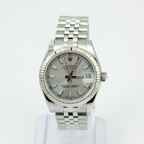 Rolex Lady-Datejust Gold/Steel 31mm Silver