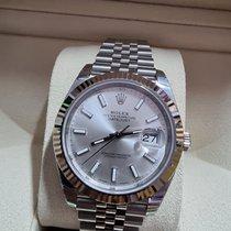 Rolex Datejust White gold 36mm Silver