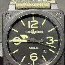 Bell & Ross BR 03-92 Ceramic BR0392-BL3-CE/SCA Неношеные Керамика 42mm Автоподзавод