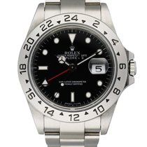 Rolex 16570 Steel 1995 Explorer II 36mm pre-owned United States of America, New York, New York