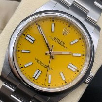 Rolex Oyster Perpetual Steel 41mm Yellow No numerals United States of America, Texas, San Antonio
