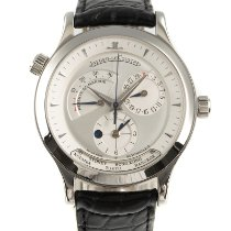 Jaeger-LeCoultre Master Geographic Steel 38mm Silver