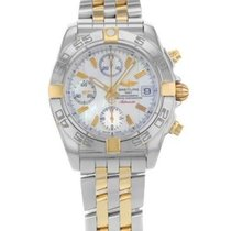 Breitling Chrono Galactic Steel 39mm White No numerals United States of America, New York, New York City