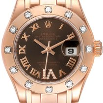 Rolex 80315 Rose gold Lady-Datejust Pearlmaster 29mm