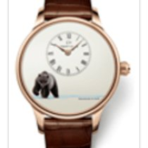 Jaquet-Droz Les Ateliers D' Art Rose gold Champagne United States of America, New York, Brooklyn