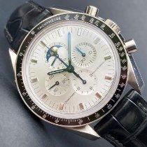 Omega Or blanc occasion Speedmaster