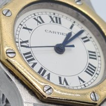 Cartier Santos (submodel) CARTIER SANTOS OCTAGON Bom Ouro/Aço 25mm Automático Brasil, Sao Paulo