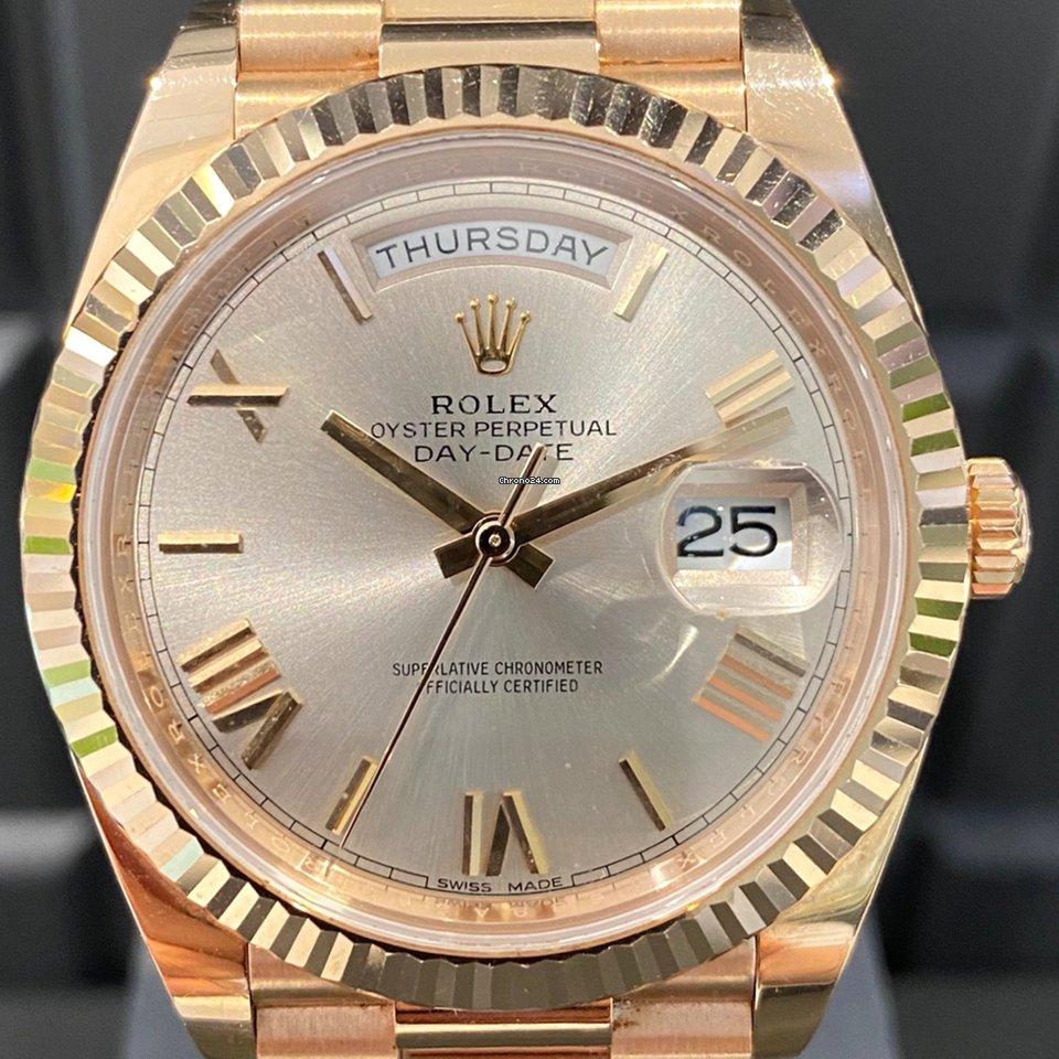 Rolex Day-Date 40 228235 2018 gebraucht