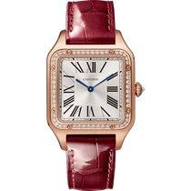 Cartier Santos Dumont new 2021 Quartz Watch with original box and original papers WJSA0016