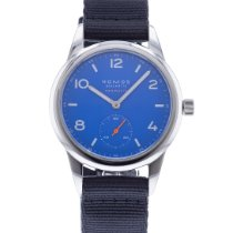NOMOS Club Neomatik Steel 37mm Blue United States of America, Georgia, Atlanta