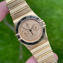 Omega Red gold Quartz Gold pre-owned Constellation Day-Date
