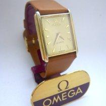 Omega Silber Quarz Gold gebraucht