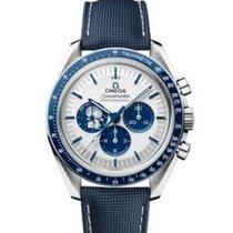 Omega Speedmaster Professional Moonwatch Stahl 42mm Silber Keine Ziffern