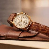 Rolex Chronograph Pозовое золото 33mm Цвета шампань