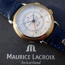 Maurice Lacroix Gold/Steel 36mm Manual winding 63511 pre-owned