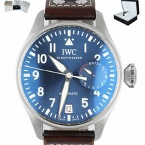 IWC Big Pilot Steel 46mm Blue Arabic numerals