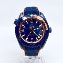Omega Seamaster Planet Ocean Ceramic 45.5mm Blue Arabic numerals