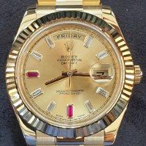 Rolex Day-Date II Yellow gold Gold Roman numerals UAE, Dubai