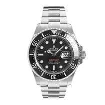 Rolex Sea-Dweller подержанные 43mm Черный Дата Сталь