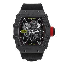 Richard Mille RM 035 RM35-01 Very good Carbon 42mm Manual winding