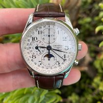 Longines Master Collection Steel 40mm Silver Arabic numerals United States of America, California, Los Angeles