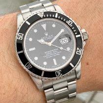 Rolex Submariner Date Steel 40mm Black No numerals Finland, HELSINKI