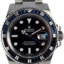 Rolex Белое золото Автоподзавод Черный 40mm новые GMT-Master II