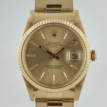 Rolex Oyster Perpetual Date Yellow gold 34mm Champagne No numerals United States of America, California, Pleasant Hill