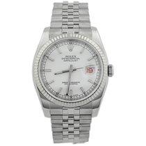 Rolex Datejust Steel 36mm White No numerals United States of America, California, Fullerton