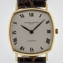 Vacheron Constantin Yellow gold Manual winding White Roman numerals 31mm pre-owned Historiques
