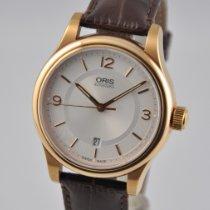 Oris Classic Acier 42mm Argent