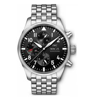 IWC Pilot Chronograph IW377710 New Steel 43mm Automatic United States of America, Iowa, Des Moines