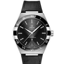 Omega Constellation Steel 41mm Black United States of America, Iowa, Des Moines