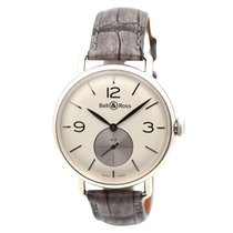Bell & Ross Manual winding Silver 41mm new Vintage