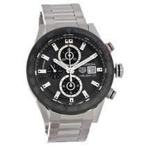 TAG Heuer Carrera Calibre HEUER 01 new Automatic Chronograph Watch with original box CAR201W.BA0714