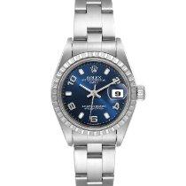 Rolex Oyster Perpetual Lady Date Steel 26mm Blue Arabic numerals United States of America, Georgia, Atlanta