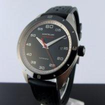 Montblanc Timewalker Steel 41mm Black Arabic numerals