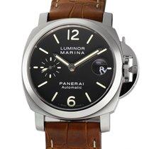 Panerai Luminor Marina Automatic neu 2014 Automatik Uhr mit Original-Box und Original-Papieren PAM 48