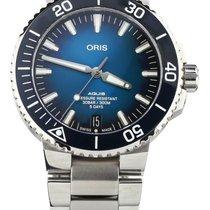 Oris Aquis Date Steel 43mm Blue United States of America, Illinois, BUFFALO GROVE