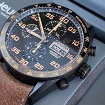 TAG Heuer Carrera Calibre 16 neu 2021 Automatik Chronograph Uhr mit Original-Box und Original-Papieren CV2A84.FC6394