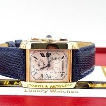 Cartier 1830 Yellow gold Tank Française 28mm pre-owned