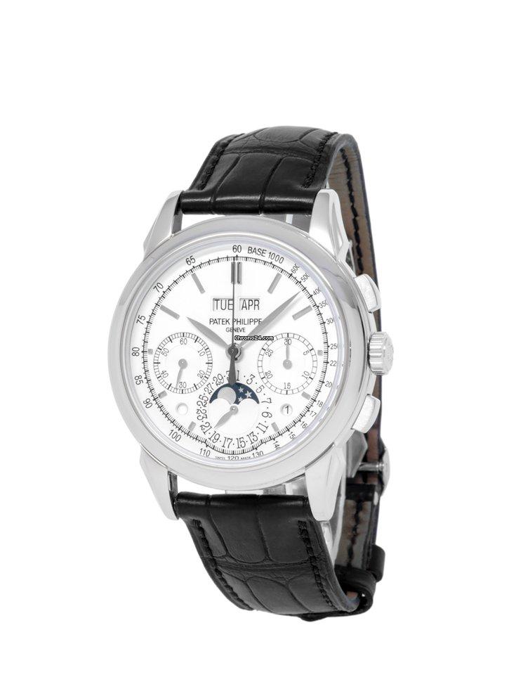 Patek Philippe Perpetual Calendar Chronograph 5270G-013 2015 pre-owned