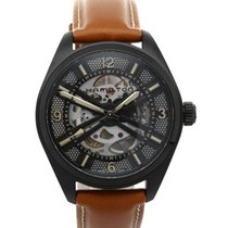 Hamilton Khaki Field Skeleton 42mm Black