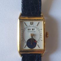 Jaeger-LeCoultre Yellow gold Manual winding White Arabic numerals 24mm pre-owned Master Calendar