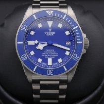 Tudor Titanium Blue 42mm pre-owned Pelagos