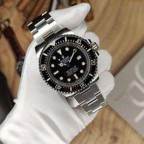 Rolex Sea-Dweller Deepsea Сталь 44mm Черный Без цифр Россия, Saint-Petersburg