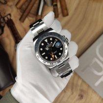 Rolex Explorer II Сталь 42mm Черный Без цифр Россия, Saint-Petersburg