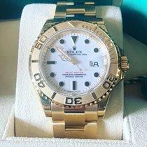 Rolex Yacht-Master 40 Yellow gold 40mm White No numerals
