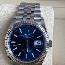 Rolex Datejust Stahl 36mm Blau Keine Ziffern Deutschland, Reutlingen, Stuttgart, München, Frankfurt, Heidelberg, Zweibrücken, Bremen, Hannover